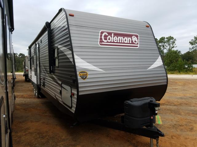 Coleman salvage cars for sale: 2019 Coleman Travel Trailer