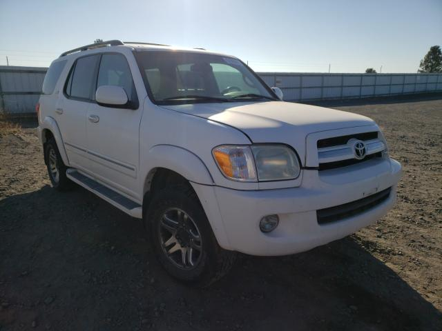 Toyota Sequoia salvage cars for sale: 2008 Toyota Sequoia