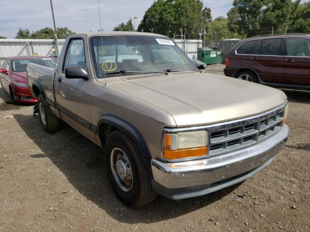 Dodge Dakota salvage cars for sale: 1993 Dodge Dakota