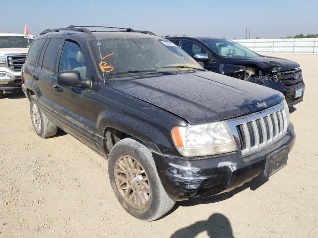 Salvage cars for sale from Copart Anderson, CA: 2004 Jeep Grand Cherokee