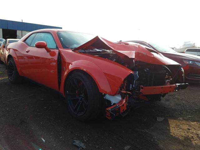 Salvage cars for sale from Copart Woodhaven, MI: 2020 Dodge Challenger
