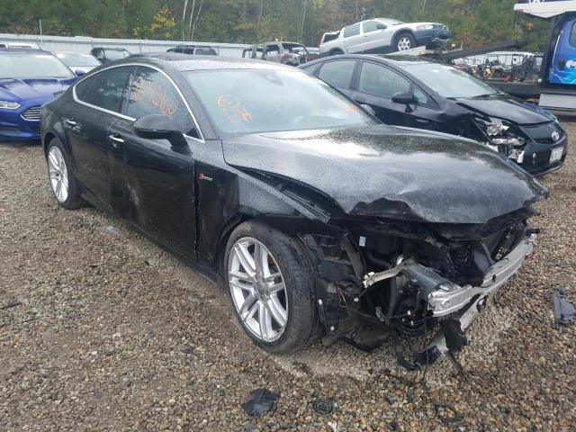 Salvage cars for sale from Copart Lyman, ME: 2015 Audi A7 Prestige