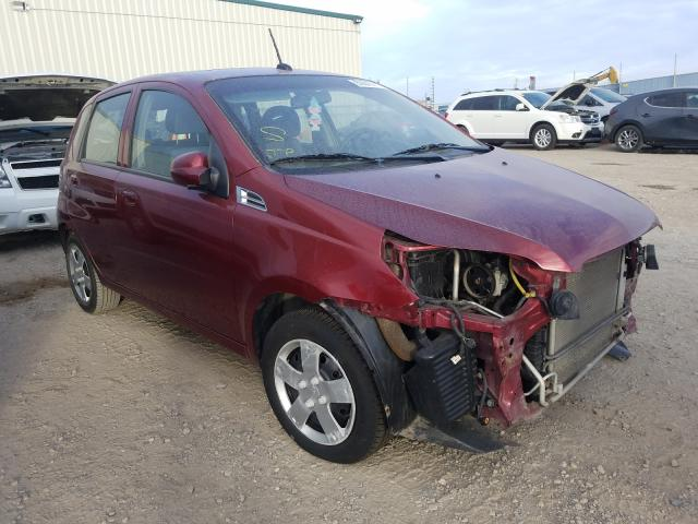 Chevrolet salvage cars for sale: 2011 Chevrolet Aveo LT