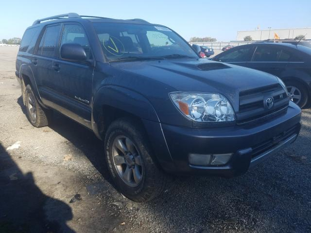 Salvage cars for sale at Fredericksburg, VA auction: 2004 Toyota 4runner SR