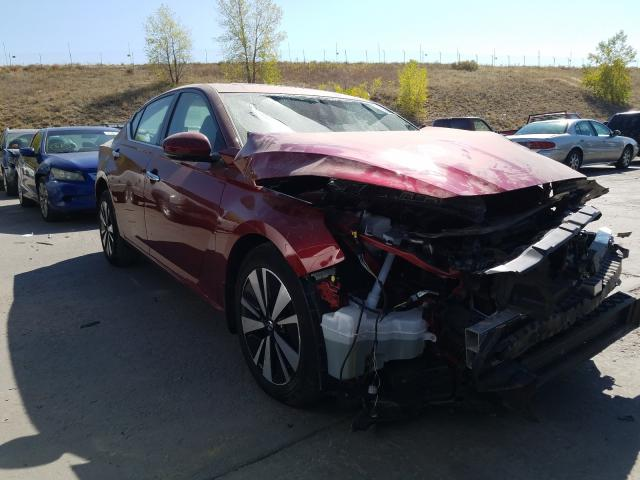 Nissan Altima SV salvage cars for sale: 2019 Nissan Altima SV