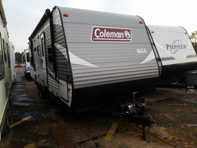 Coleman salvage cars for sale: 2018 Coleman Travel Trailer