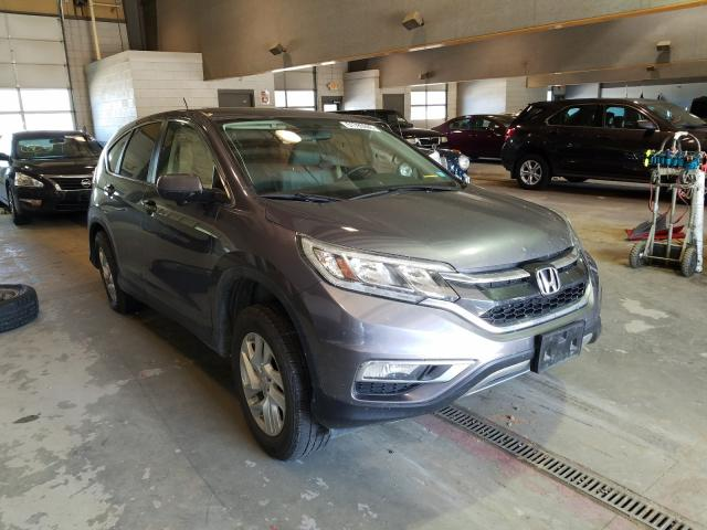 Salvage cars for sale from Copart Sandston, VA: 2016 Honda CR-V EX
