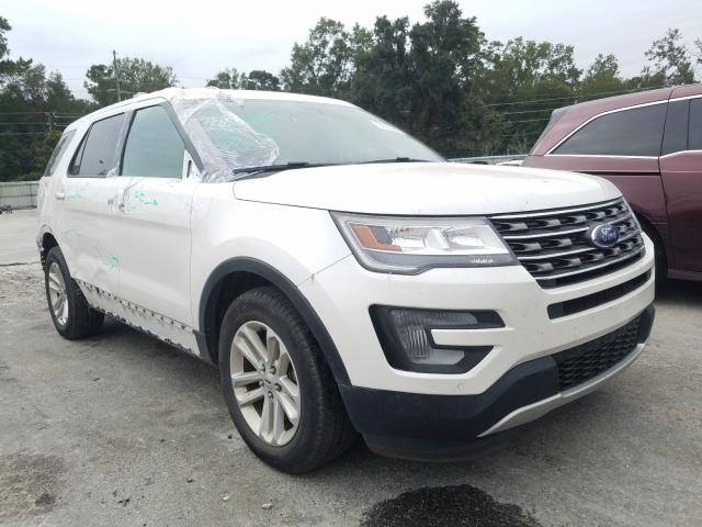 Salvage cars for sale from Copart Savannah, GA: 2017 Ford Explorer X
