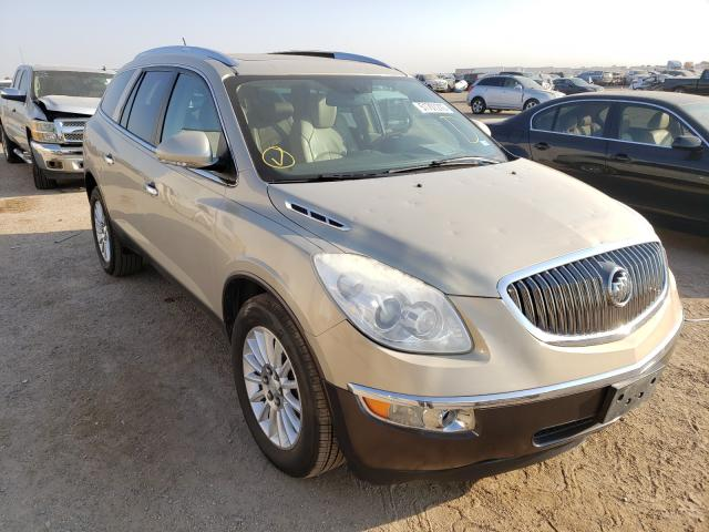 Salvage cars for sale from Copart Amarillo, TX: 2012 Buick Enclave