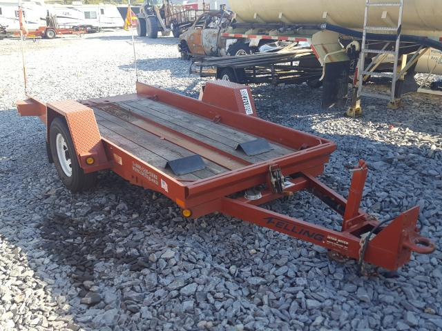 Fell Trailer salvage cars for sale: 2016 Fell Trailer