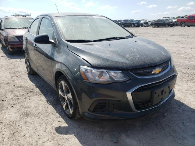 Salvage cars for sale from Copart Madisonville, TN: 2019 Chevrolet Sonic Premium