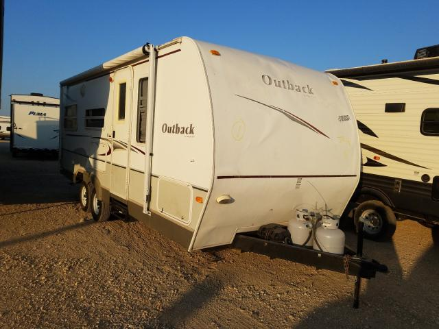 Keystone Outback salvage cars for sale: 2008 Keystone Outback