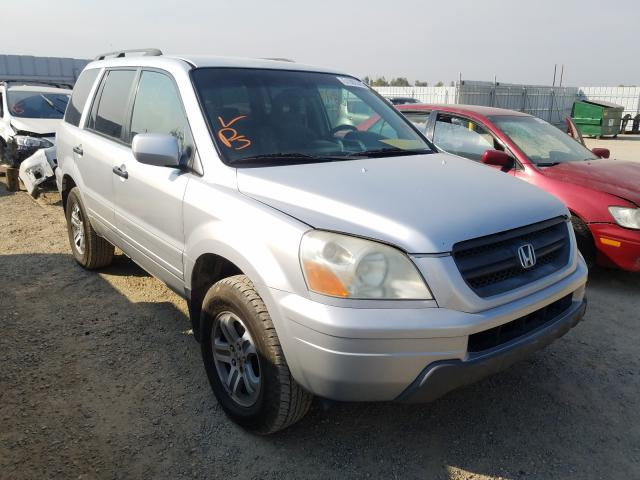 Salvage cars for sale from Copart Anderson, CA: 2003 Honda Pilot EX