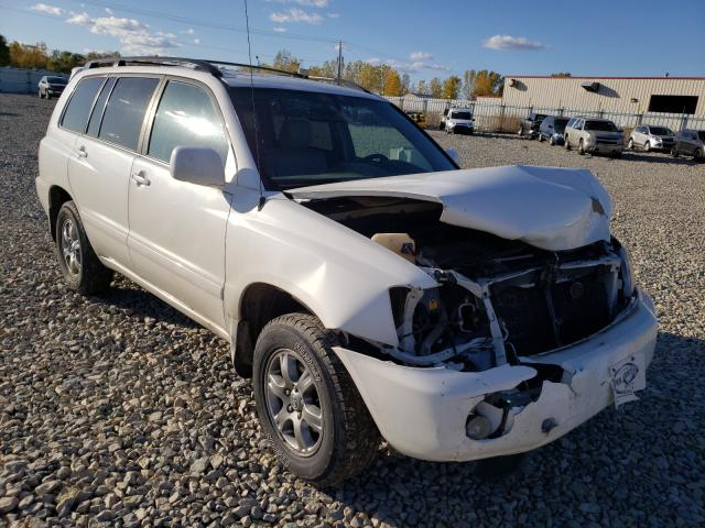 Salvage cars for sale from Copart Appleton, WI: 2007 Toyota Highlander