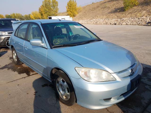 2005 Honda Civic Hybrid en venta en Littleton, CO