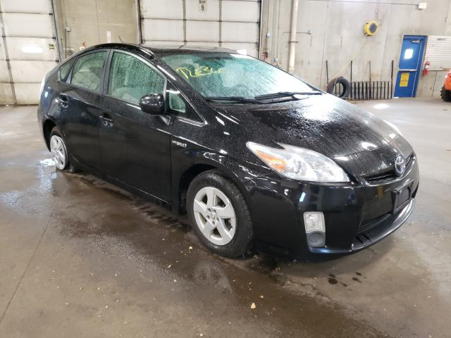 Salvage cars for sale from Copart Blaine, MN: 2011 Toyota Prius