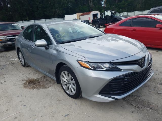 Salvage cars for sale from Copart Ocala, FL: 2020 Toyota Camry LE