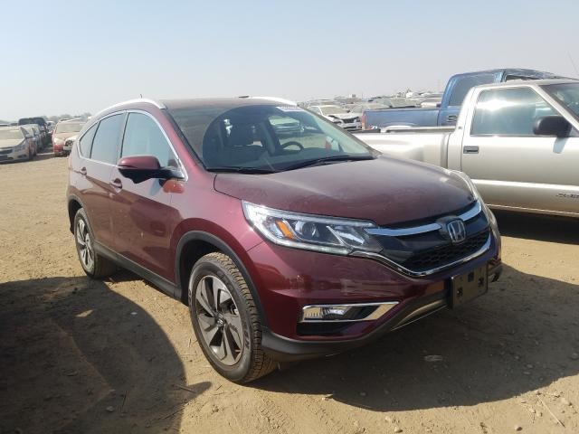 Salvage cars for sale from Copart Brighton, CO: 2015 Honda CR-V Touring