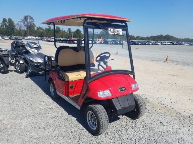 Salvage trucks for sale at Lumberton, NC auction: 2017 Starcraft Golf Cart
