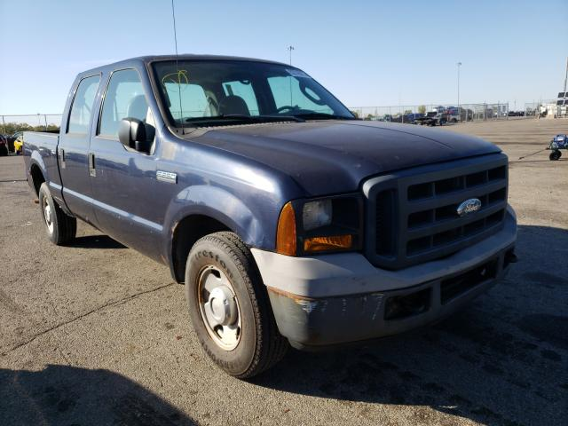 Salvage cars for sale from Copart Moraine, OH: 2006 Ford F250 Super