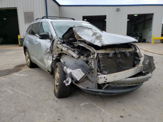 Salvage cars for sale from Copart Lufkin, TX: 2014 Toyota Highlander