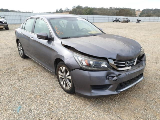 Salvage cars for sale from Copart Anderson, CA: 2013 Honda Accord LX