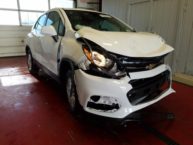 Chevrolet Trax LS salvage cars for sale: 2020 Chevrolet Trax LS
