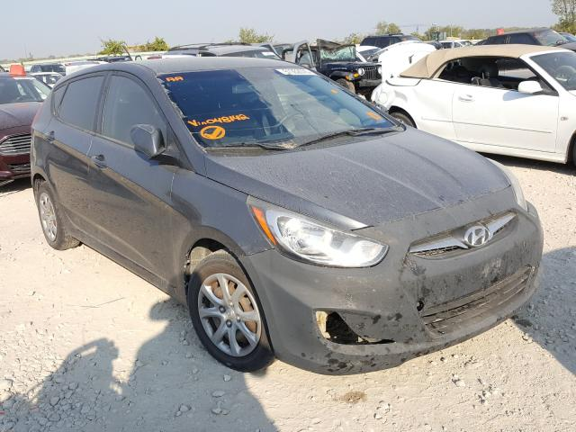 Salvage cars for sale from Copart Kansas City, KS: 2012 Hyundai Accent GLS