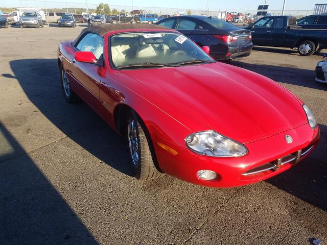 Salvage cars for sale from Copart Moraine, OH: 2002 Jaguar XK8