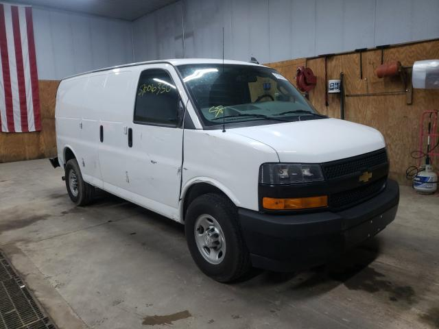Salvage cars for sale from Copart Kincheloe, MI: 2018 Chevrolet Express G2