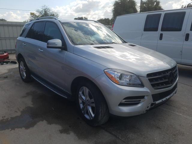 Mercedes-Benz ML 350 salvage cars for sale: 2015 Mercedes-Benz ML 350
