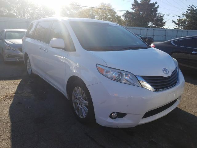 Toyota salvage cars for sale: 2011 Toyota Sienna XLE