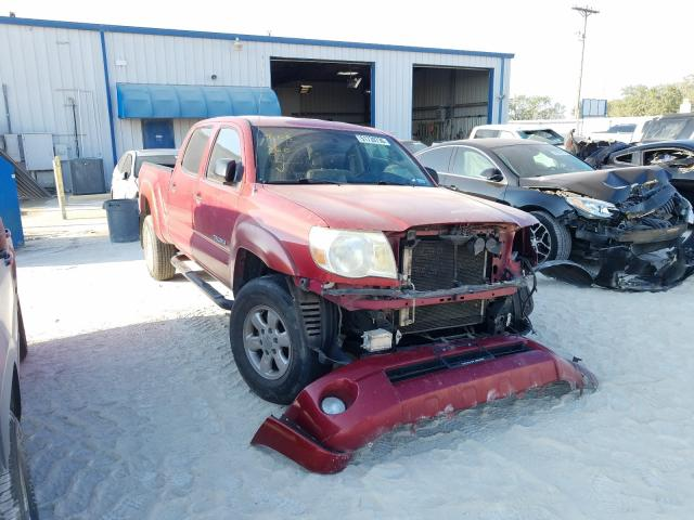 Salvage cars for sale from Copart Abilene, TX: 2007 Toyota Tacoma DOU
