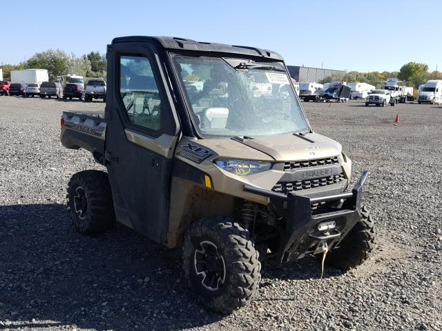 Salvage cars for sale from Copart Billings, MT: 2020 Polaris Ranger XP