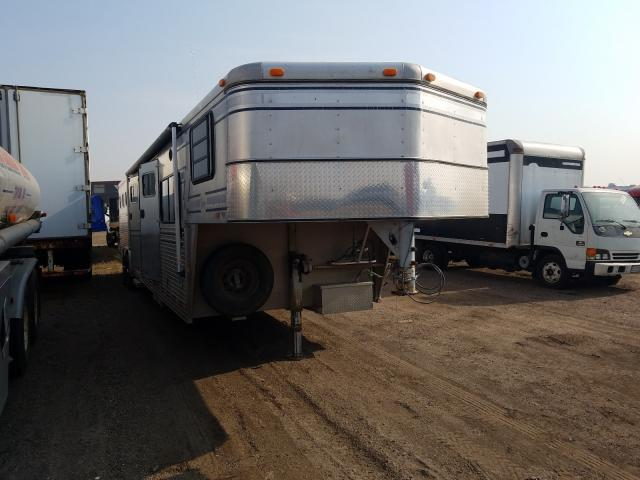 Vehiculos salvage en venta de Copart Brighton, CO: 1995 Sundowner Horse Trailer