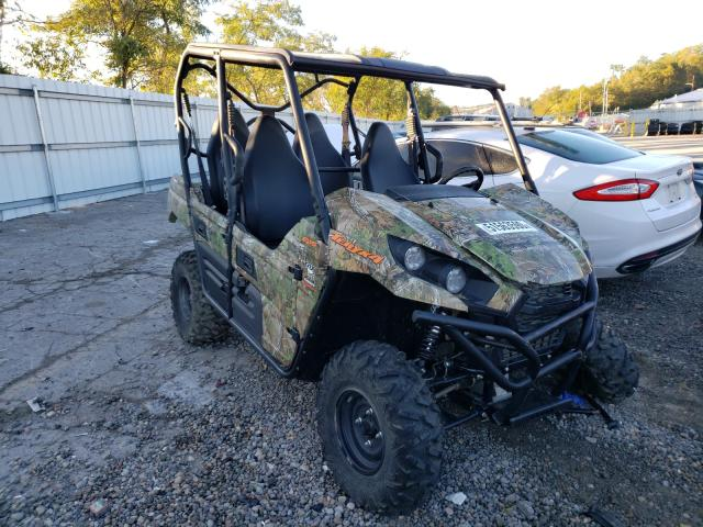 Salvage cars for sale from Copart West Mifflin, PA: 2019 Kawasaki KRT800 H