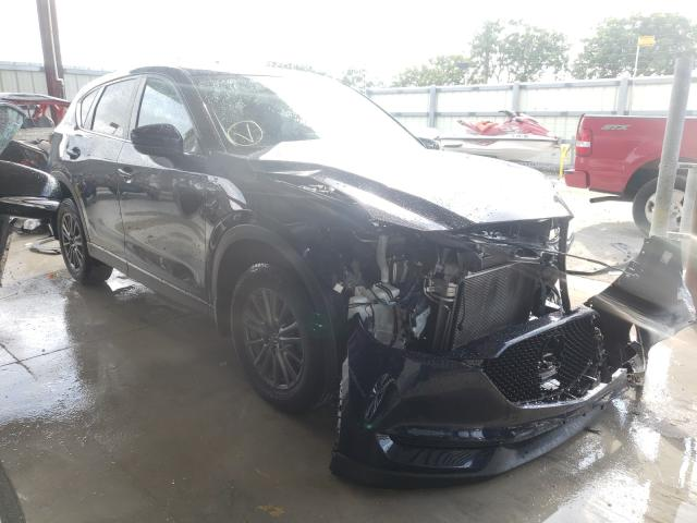Salvage cars for sale from Copart Homestead, FL: 2017 Mazda CX-5 Touring