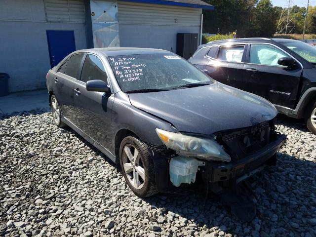 Salvage cars for sale from Copart Mebane, NC: 2011 Toyota Camry Base