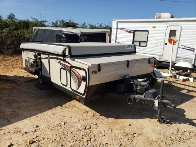 Rockwood Travel Trailer salvage cars for sale: 2015 Rockwood Travel Trailer