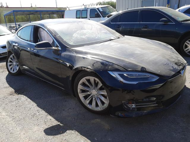 Salvage cars for sale from Copart Las Vegas, NV: 2017 Tesla Model S