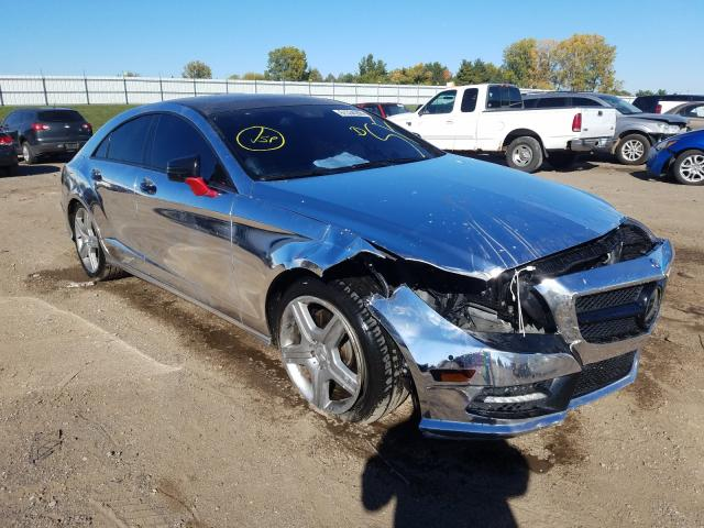 Salvage cars for sale from Copart Portland, MI: 2013 Mercedes-Benz CLS 550 4M