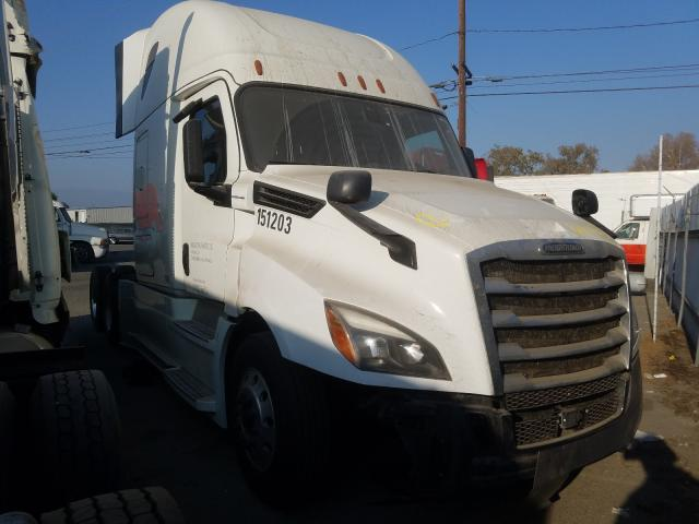 Salvage cars for sale from Copart Colton, CA: 2019 Freightliner Cascadia 1