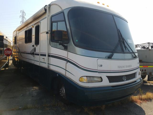 Holiday Rambler salvage cars for sale: 1996 Holiday Rambler Vacationer