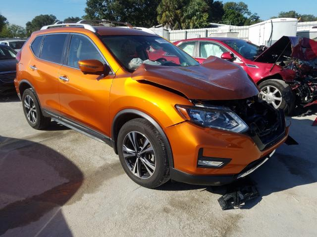 Salvage cars for sale from Copart Punta Gorda, FL: 2017 Nissan Rogue S