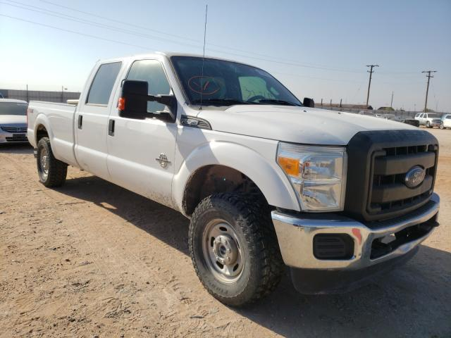 Salvage cars for sale from Copart Andrews, TX: 2014 Ford F250 Super