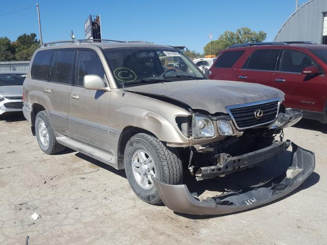 salvage title 1999 lexus lx470 4dr spor 4 7l for sale in wichita ks 52419520 a better bid car auctions