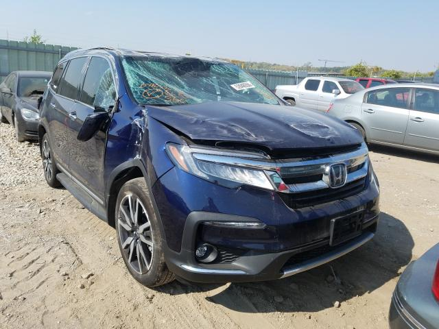 Salvage cars for sale from Copart Kansas City, KS: 2019 Honda Pilot Elit