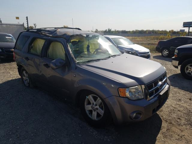 Salvage cars for sale from Copart Cicero, IN: 2008 Ford Escape HEV