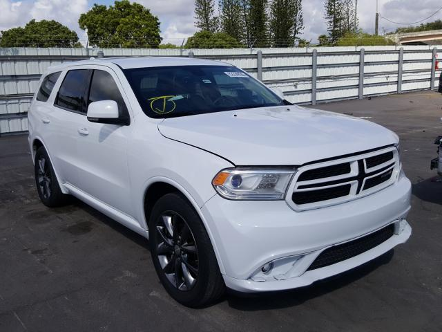 Dodge salvage cars for sale: 2017 Dodge Durango GT