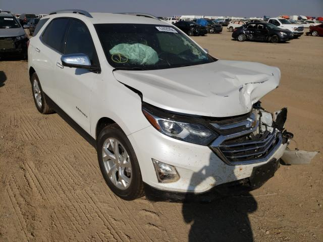 Salvage cars for sale from Copart Amarillo, TX: 2020 Chevrolet Equinox PR